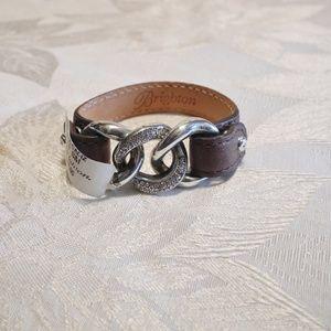 NWT Brighton Segovia Cadiz Leather Bracelet Small